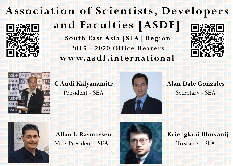 SEA Region Formation of ASDF Anbuoli Parthasarathy ASDF Kokula Krishna Hari Kunasekaran