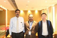 Kae Kae with Dr. Sharma and Dr. Ikiyo